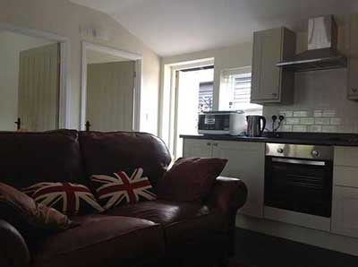 The Stable kitchen at New Wood Farm