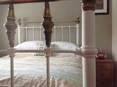 The Stable bedroom at New Wood Farm